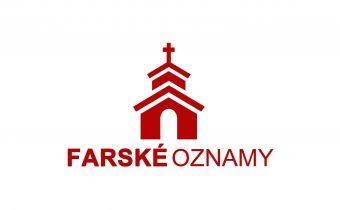 Farské oznamy 2. – 8. novembra 2020